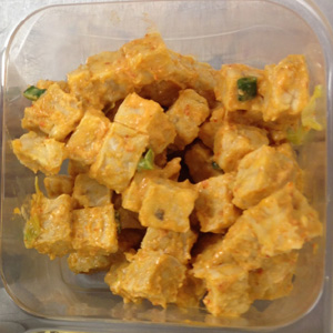 Spicy tempeh